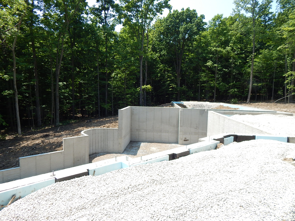 formed home foundation